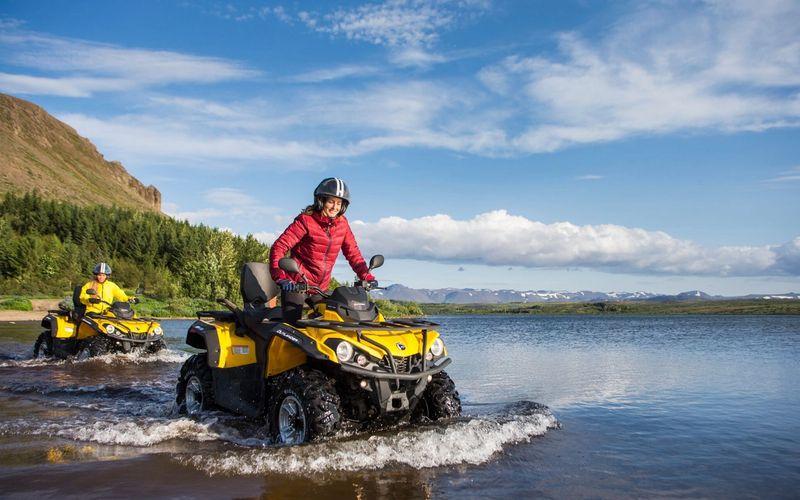ATV TOUR IN REYKJAVIK
