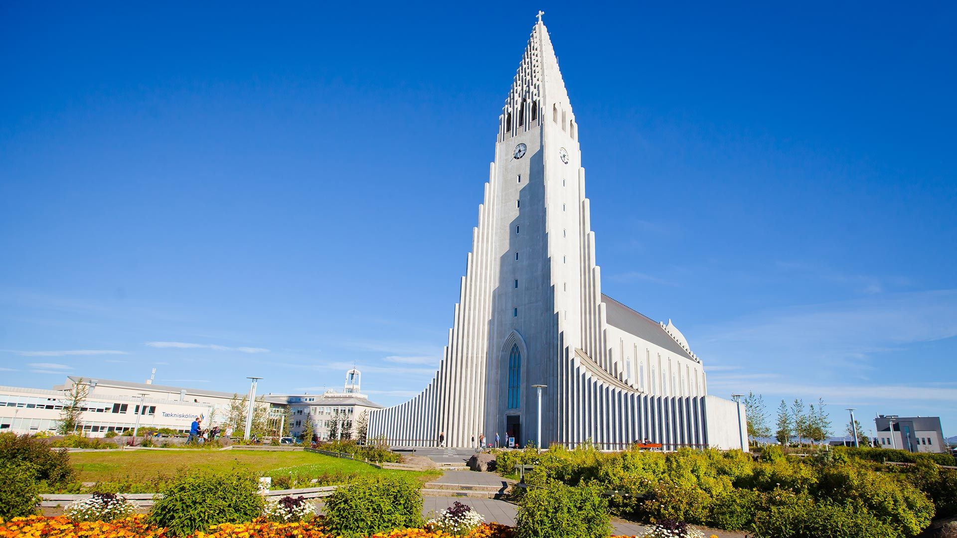 Hallgrímskirkja church in Reykjavik