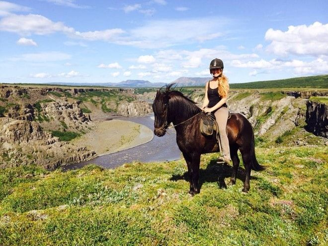 Horseriding in Iceland