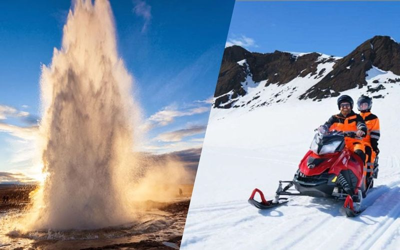 GOLDEN CIRCLE & SNOWMOBILING TOUR