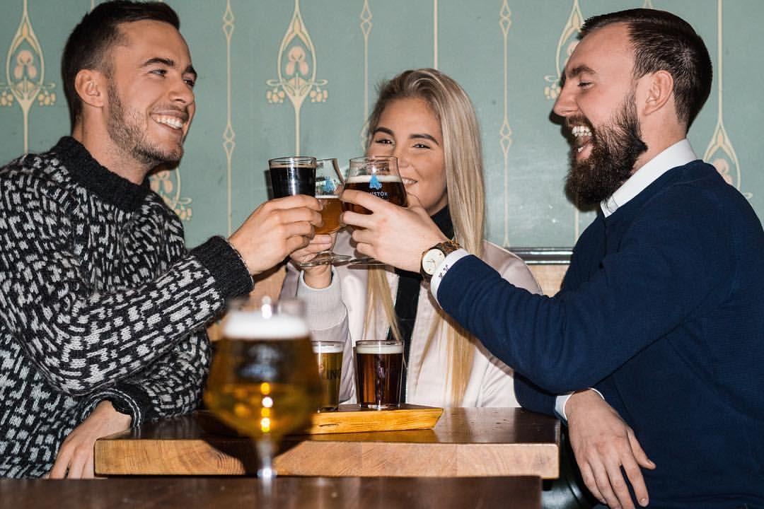 Craft beer tasting in Reykjavik