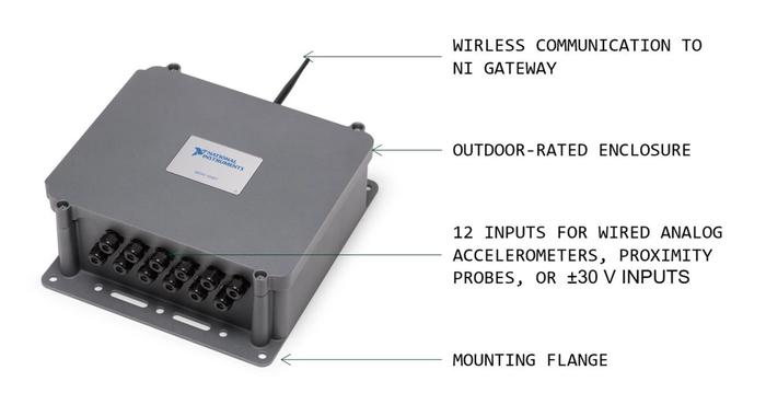 Wireless Vibration Measurement Device