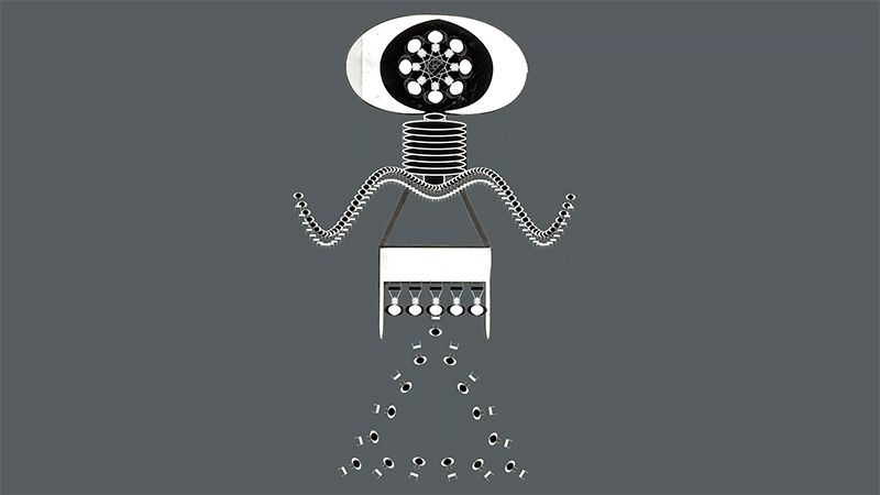 Illustration: Imaginal machines