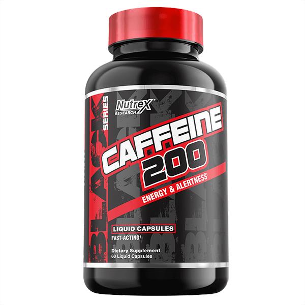 Cafeína 200mg / 60 caps.
