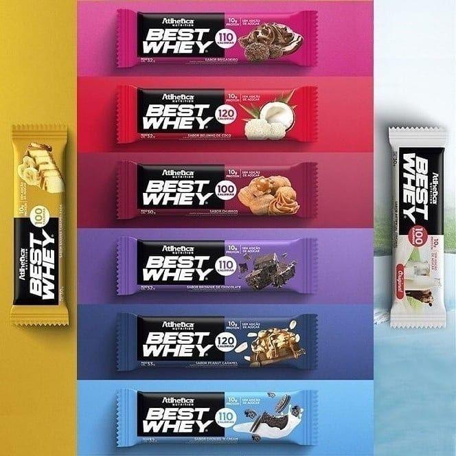 Best whey Bar / 12 unidades.