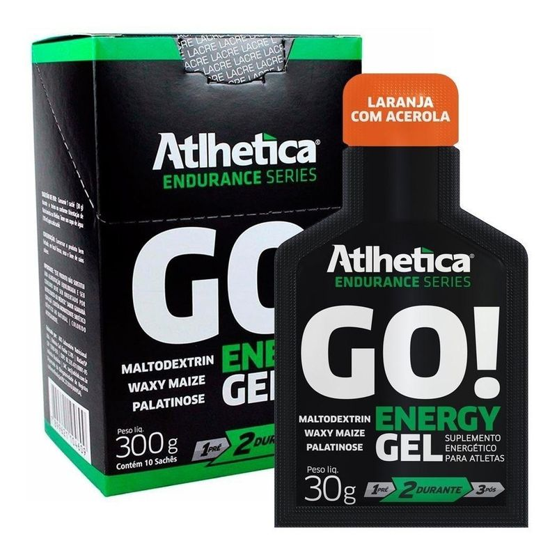 GO! Energy Gel / 10 und.