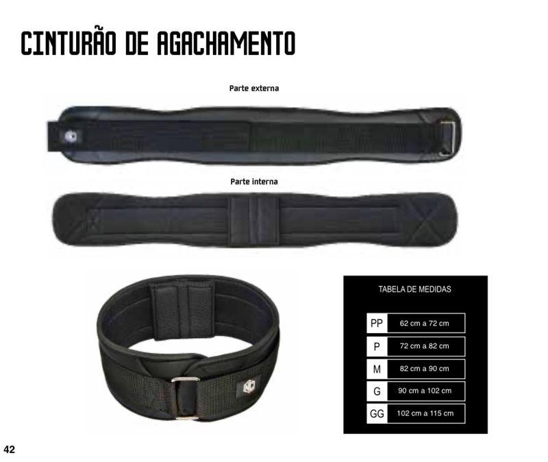 Cinturon para agachamiento / Unidad