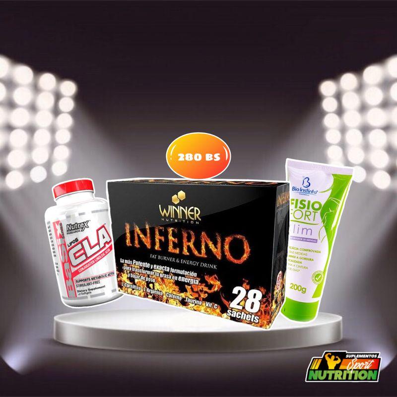 COMBO Inferno + Cla + Crema