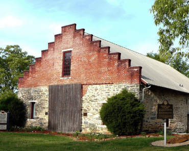 Edgewater Hall and the Rock Barn