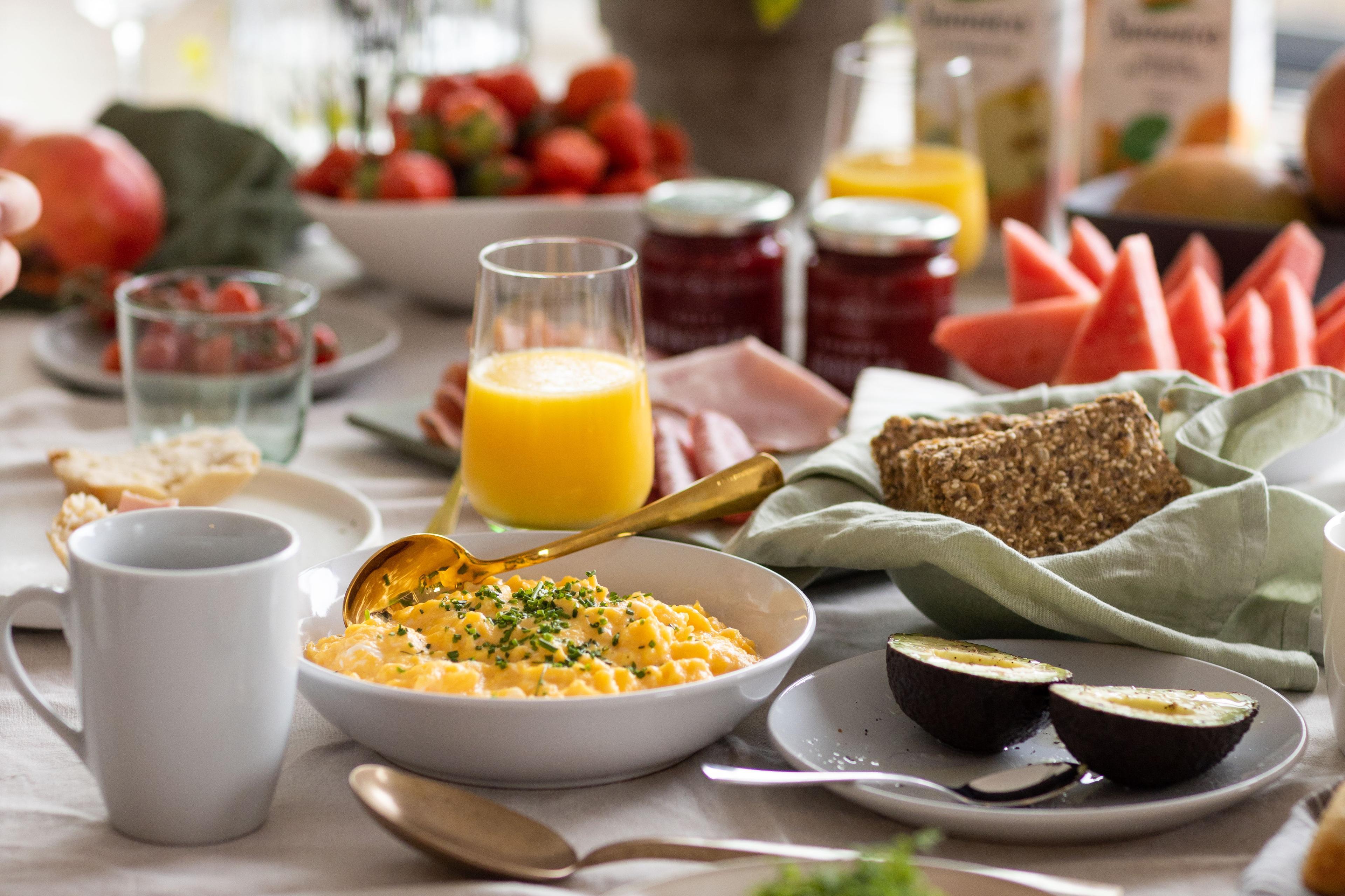 Kremet eggerøre til 17.mai-frokosten