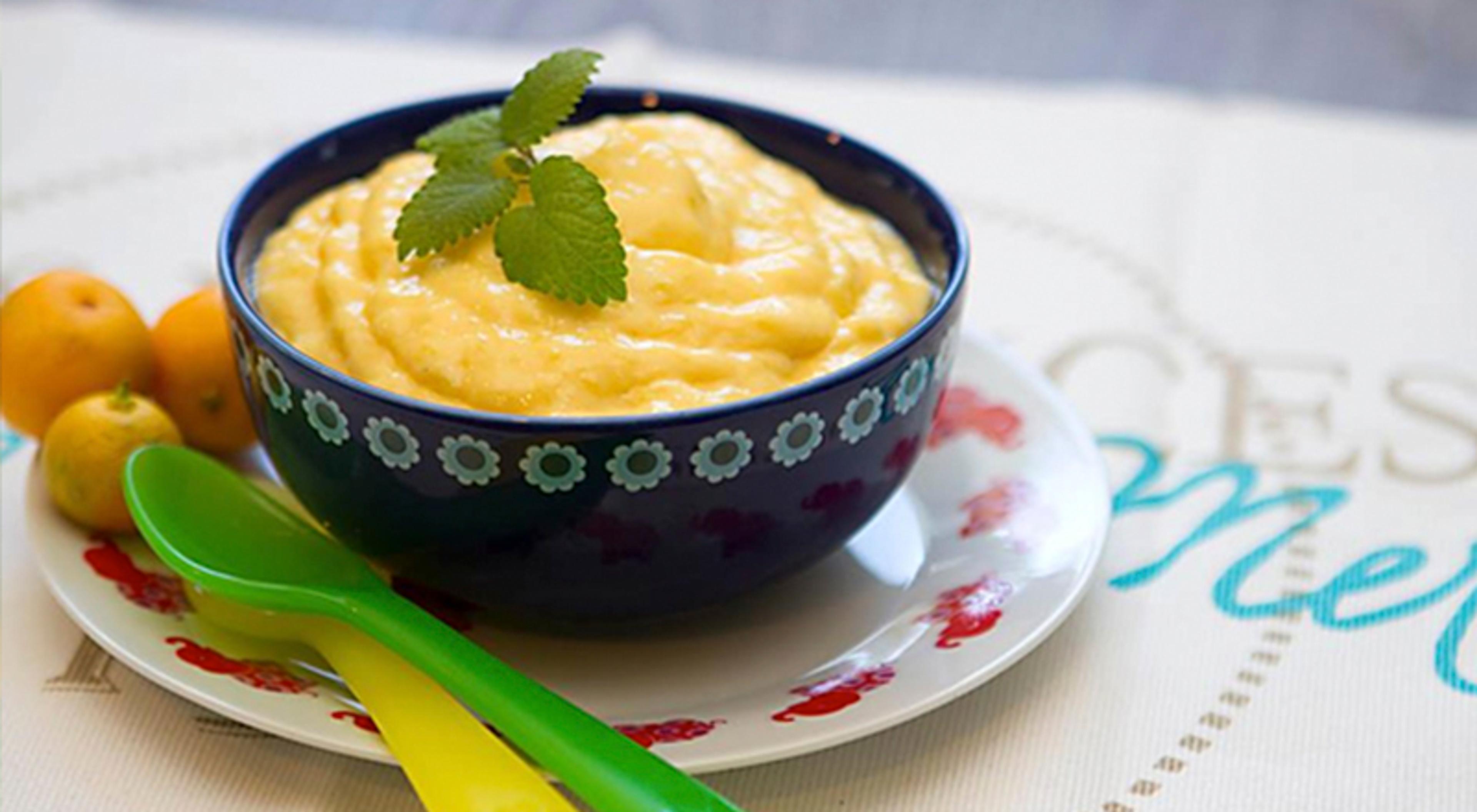 Sommerfavoritt: Hjemmelaget mango-is!
