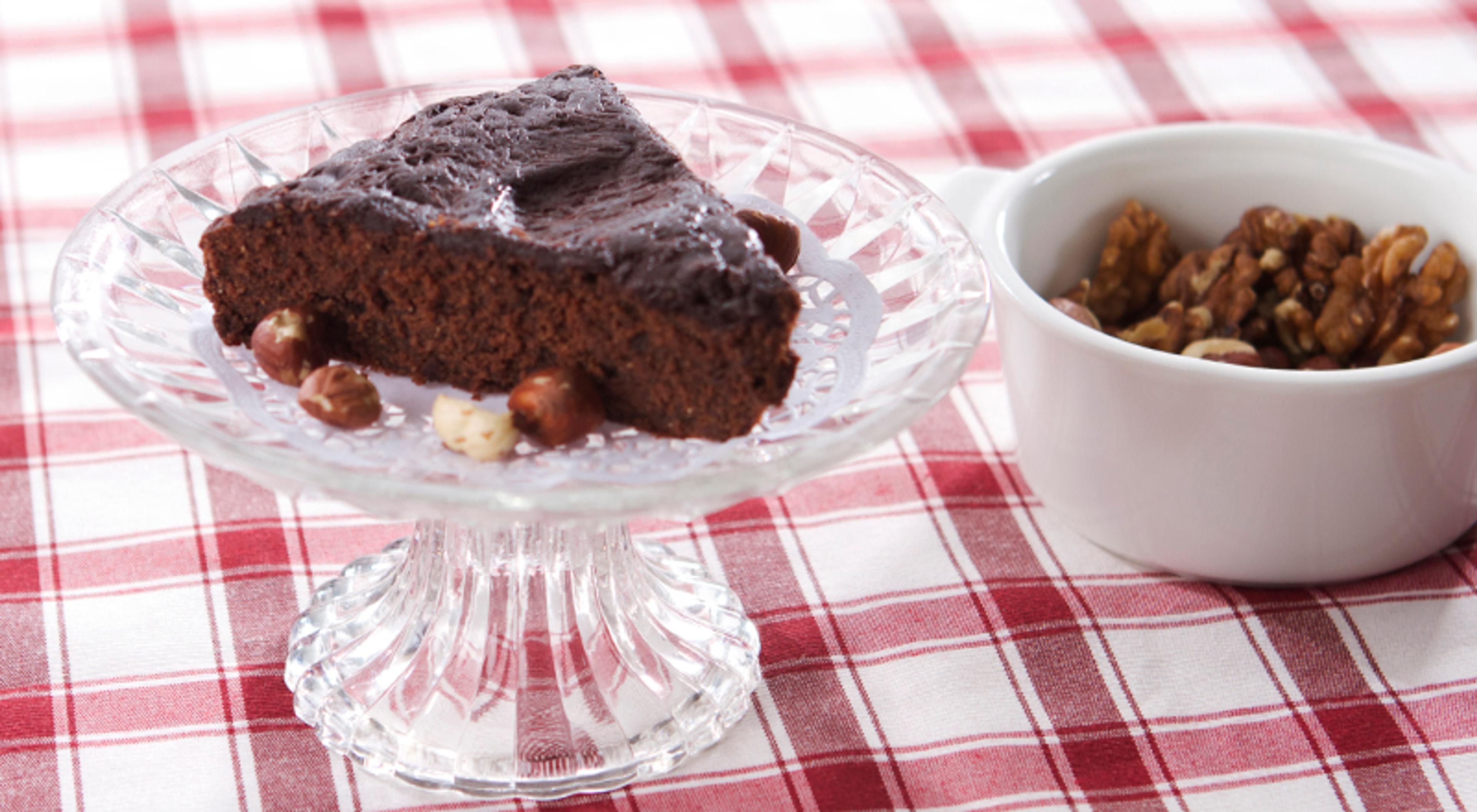 Brownies og pannekaker til farsdag