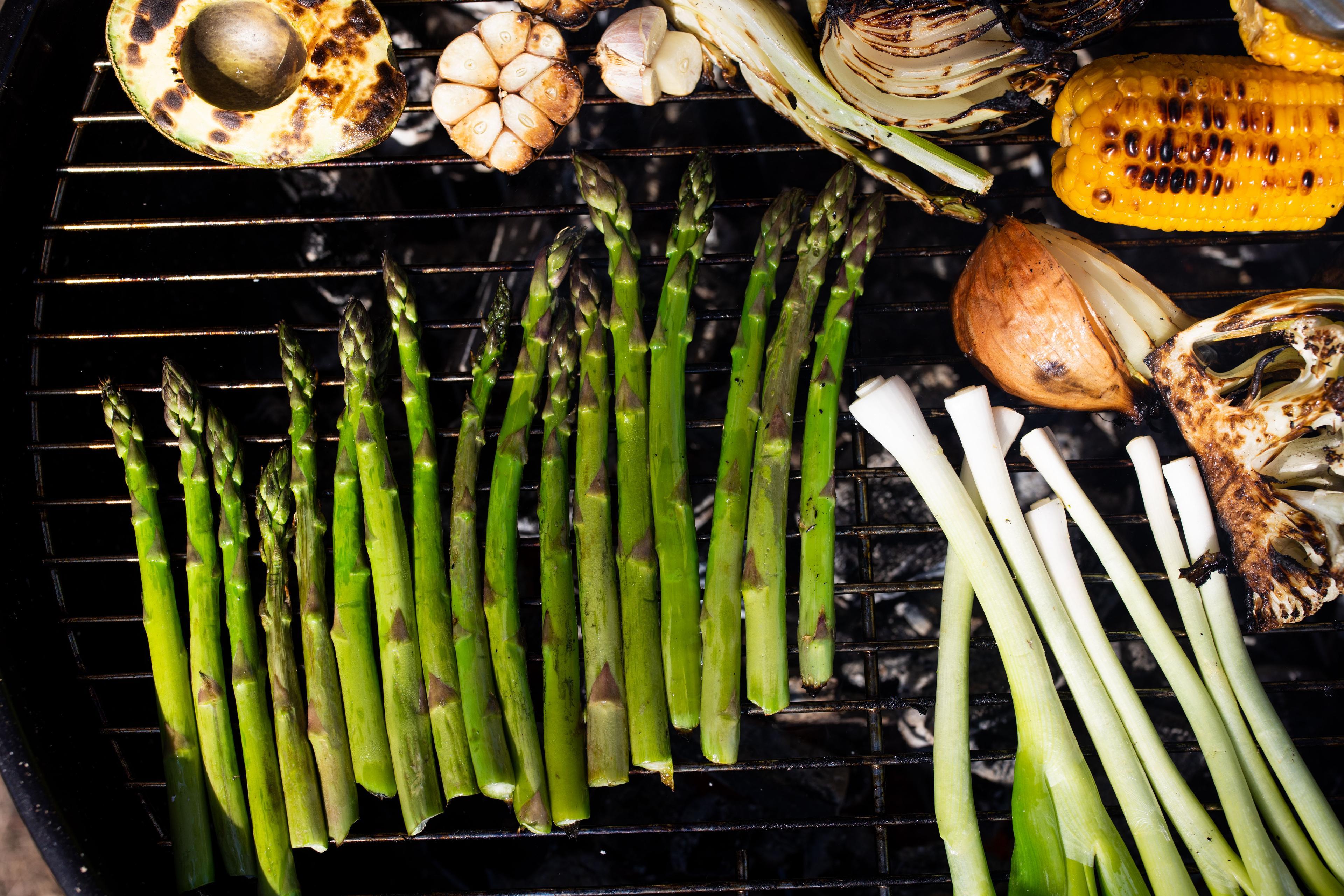 Asparges og grill - månedens smaker i mai