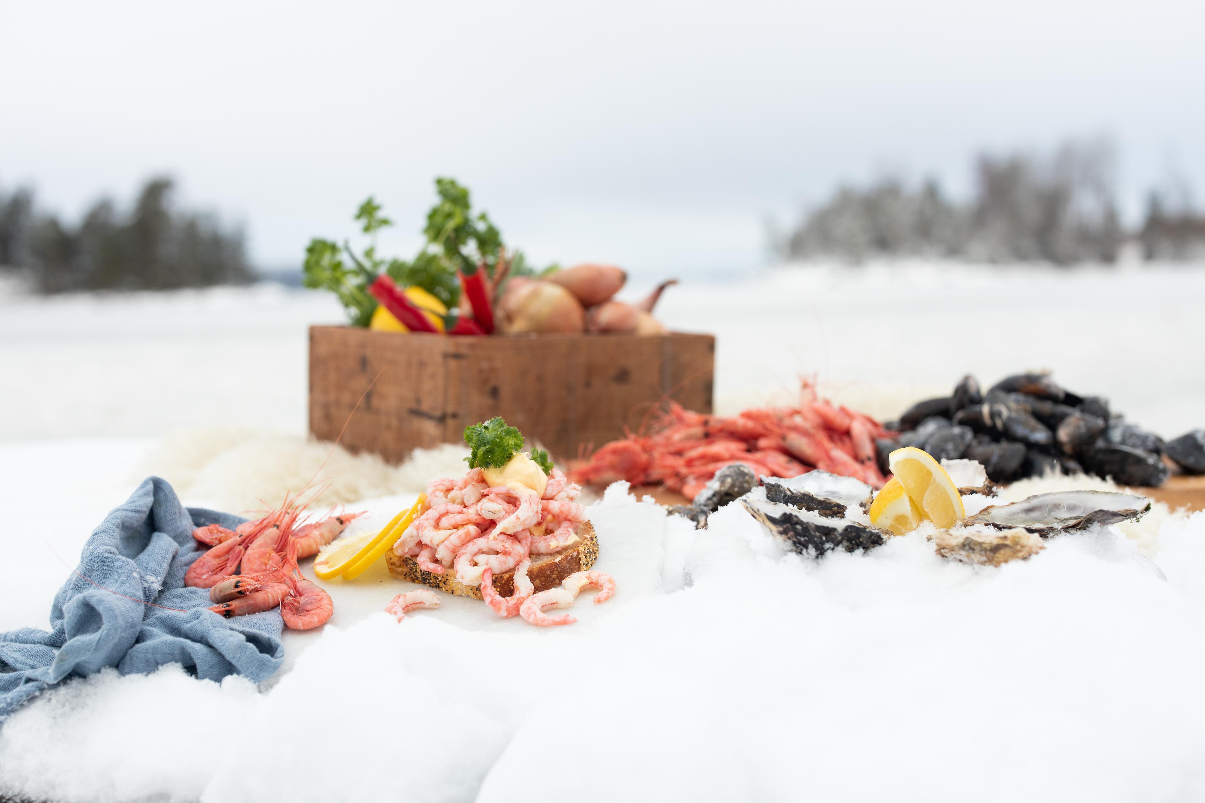 Fisk og skalldyr - månedens smak februar