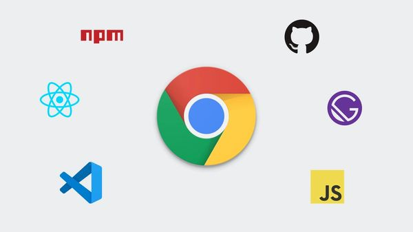 Chrome Web Development Graphic