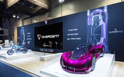 Trade show displays as an exhibition option