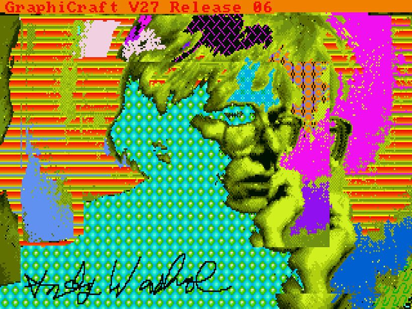 Andy Warhol, Andy2, 1985, Source: designboom, © The Andy Warhol Foundation for the Visuals Arts, inc. / courtesy of the Andy Warhol Museum [3]