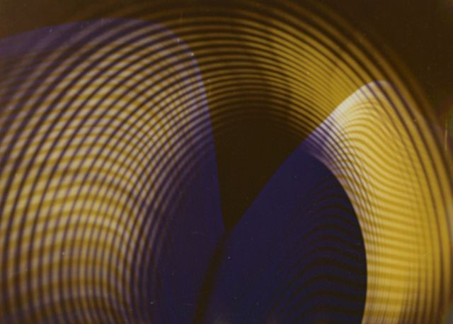 Herbert W. Franke, Light shapes, 1953, Source: Artsy, Photo Edition Berlin [4]