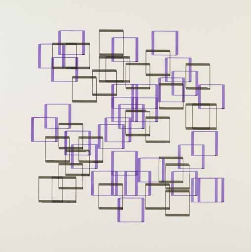 Frieder Nake, Walk-Through-Raster, 1967,  Copyright © Victoria and Albert Museum, London [6]