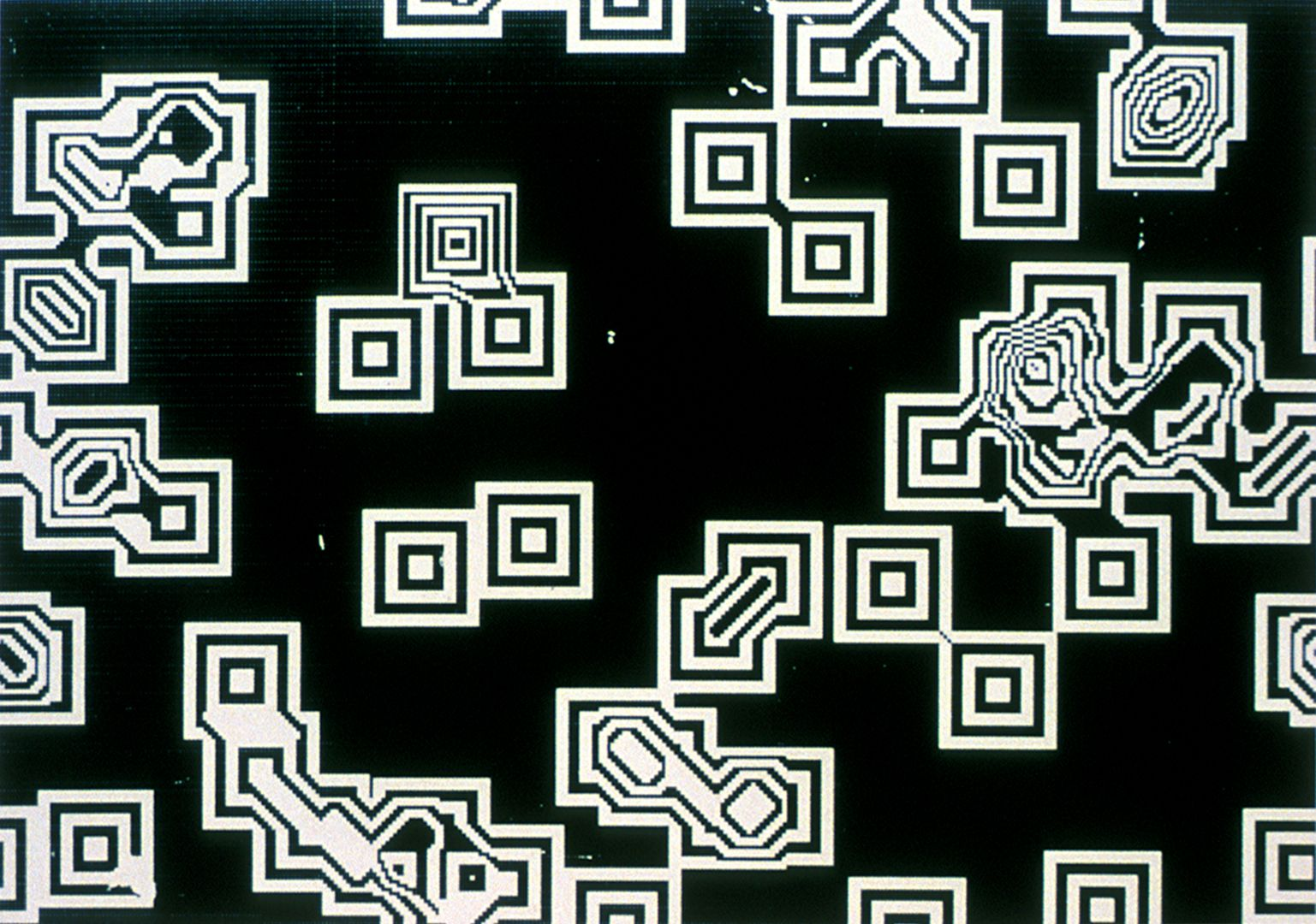 Lillian Schwartz and Kenneth C. Knowlton, Pixillation, 1970, Source: Digital Art Archive, Copyright © 1970, Lillian F. Schwartz and Kenneth C. Knowlton [3]