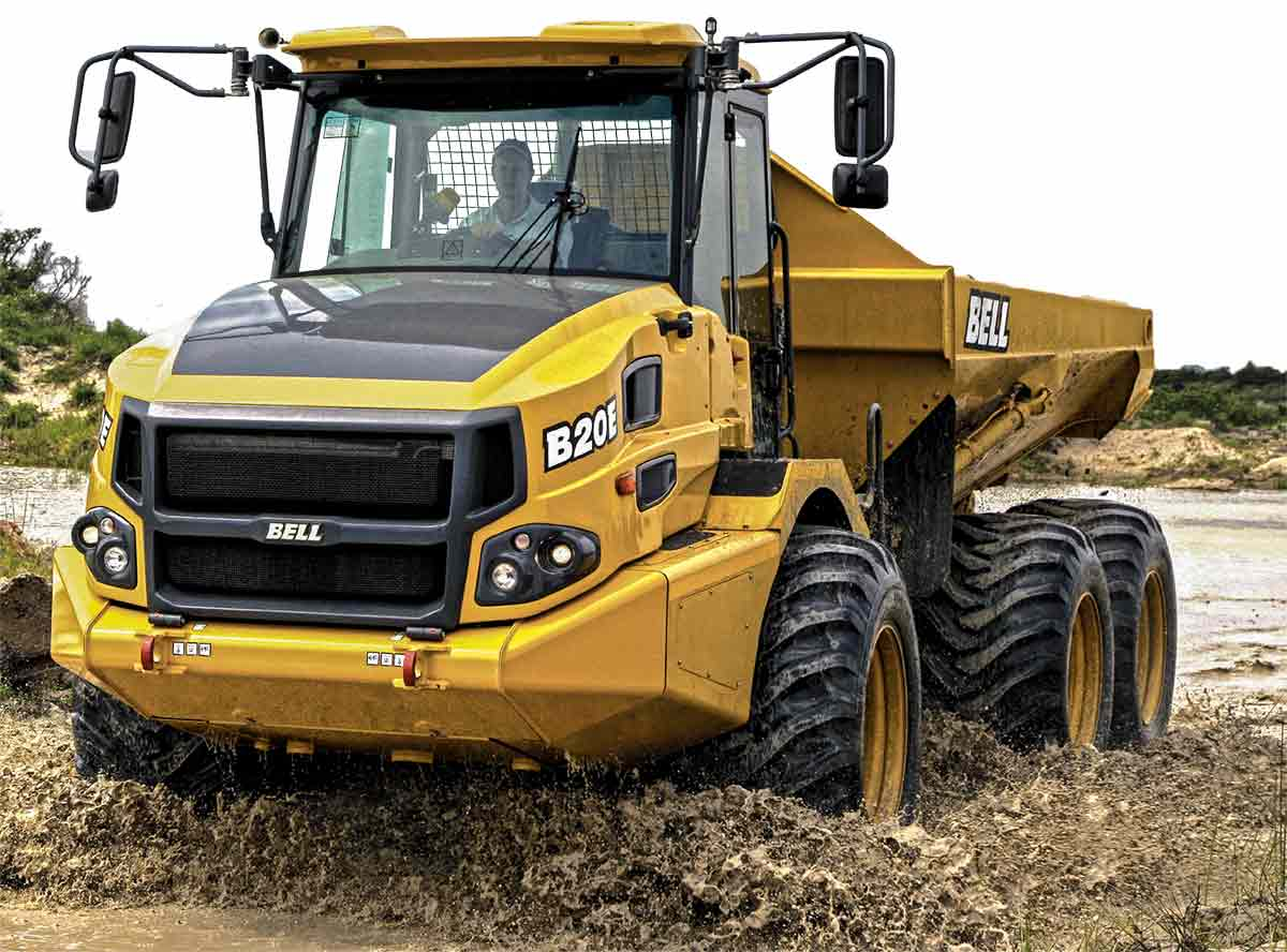 bell-articulated-dump-truck-for-sale-rent
