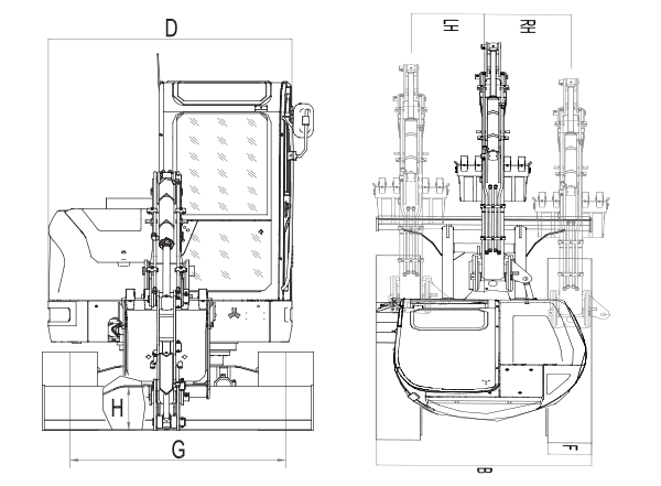 Sany SY50U specs sheet details