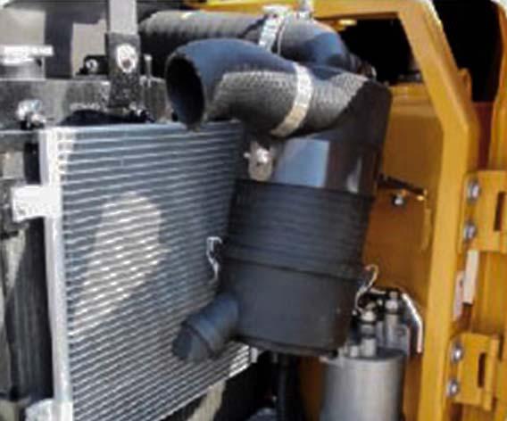 servicing sany sy50u excavator