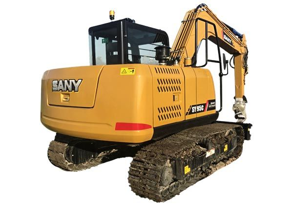 New Sany SY95C on display for sale or rent