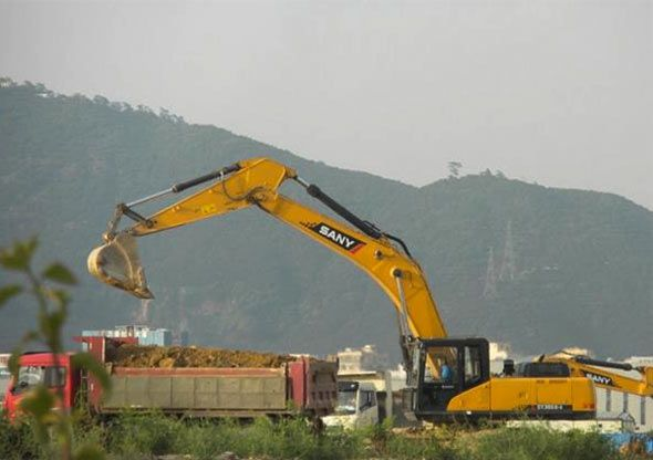 Used Sany SY365C for sales or rent