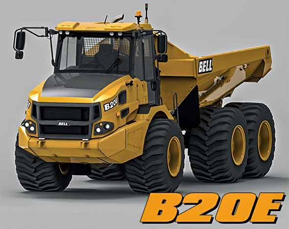 A Model Bell B20E Truck Showcase