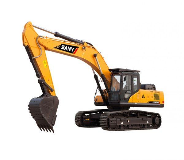 Sany-Excavator-Machine-Features-Specs