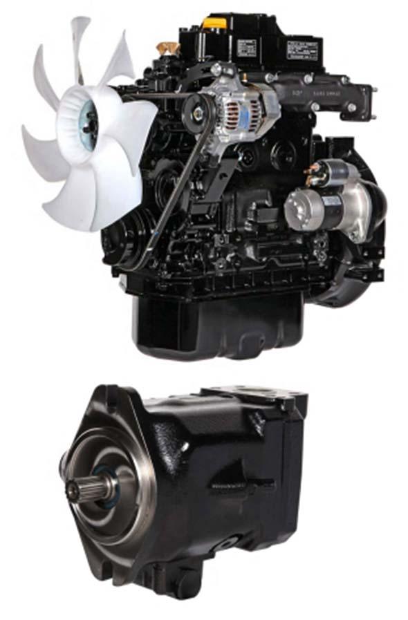 Sany SY26U Engine