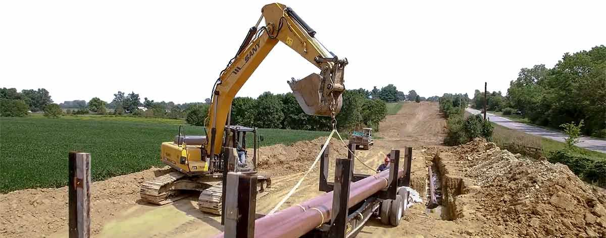 sany-excavator-rentals-available-sany-working-on-pipeline-jobsite