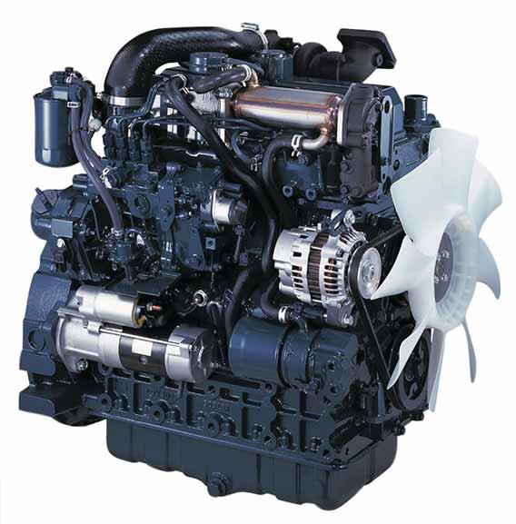 Sany SY60c Engine