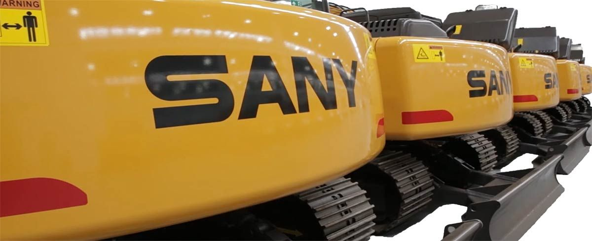 Sany-Excavator-available-in-stock