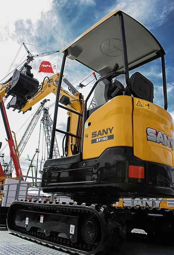 Used Sany SY16C for sales or rent