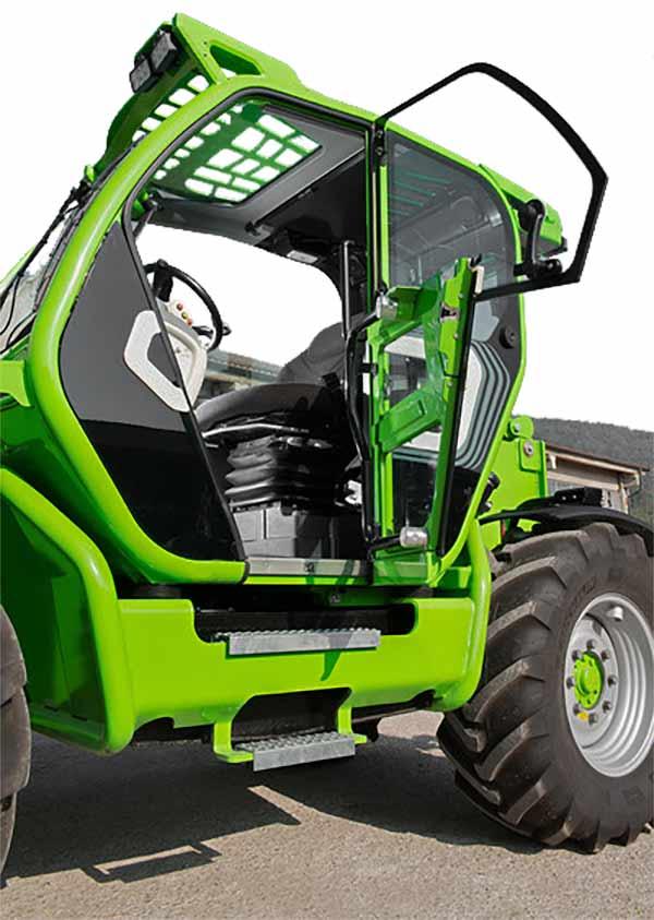 Merlo turbo farmer 42.7 interior telehandler