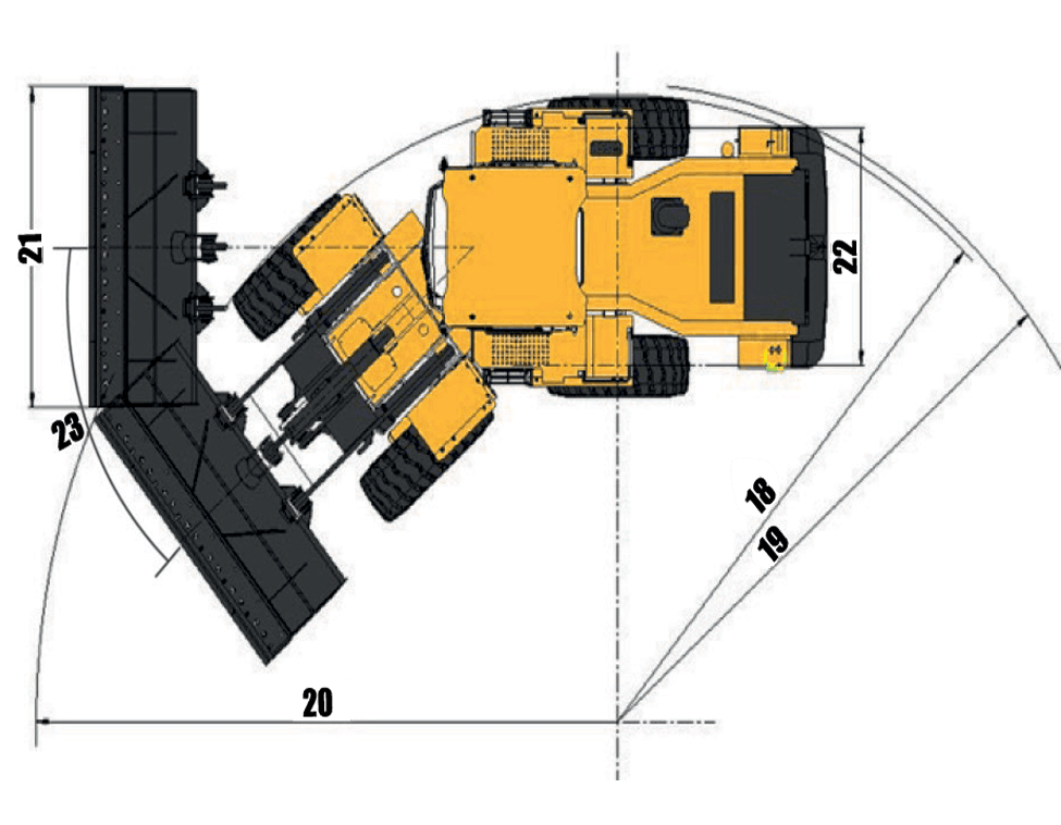 Sany-sw405k-wheel-loader-machine-parameters-chart