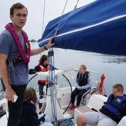 Så er det kurs tilbake til havna (privat foto)