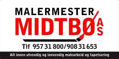 Malermester Midtbø AS logo