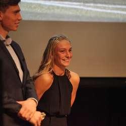 Årets mest framgangsrike: Vegard og Agathe. (Foto: KVB)