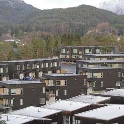 Bøe og Lepsøy Utbygging har selt over 100 hus på 5 år. (Foto: Kjetil Vasby Bruarøy)