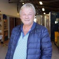 Kjell Størksen i verkstaden i Os Næringspark. (Foto: KVB)