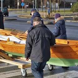 I går var det søndagstur, og levering av båten. (Foto: KOG)