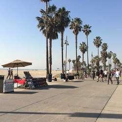 Venice Beach. (Privat foto)