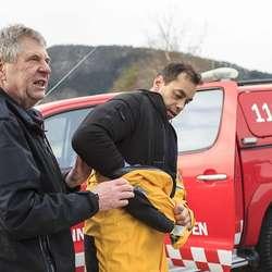 Arne Monsen og Erik Walden. (Foto: Oddmund Lunde)