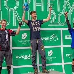 Vegard Bolstad Bjørø tok sitt første NM-gull! (Foto: Stian Vestrinen)