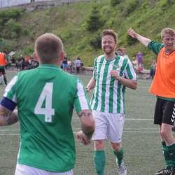 John Ole Johannessen kom til for å gratulera. (Foto: KVB)