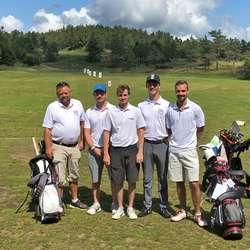 Herrelaget til Bjørnefjorden Golfklubb må ta turen ned i andredivisjon frå 2020. (Foto. Bjørnefjorden GK)