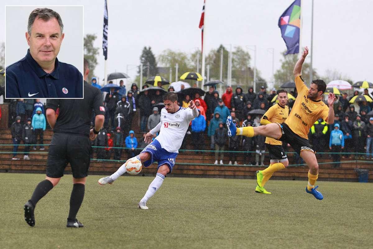 Arrangementansvarleg i NFF, Rune Pedersen, har stor tru på seriespel for både Os og Lysekloster i årets Norsk Tipping-liga. (Foto: NFF/ Kjetil Vasbu Bruarøy)